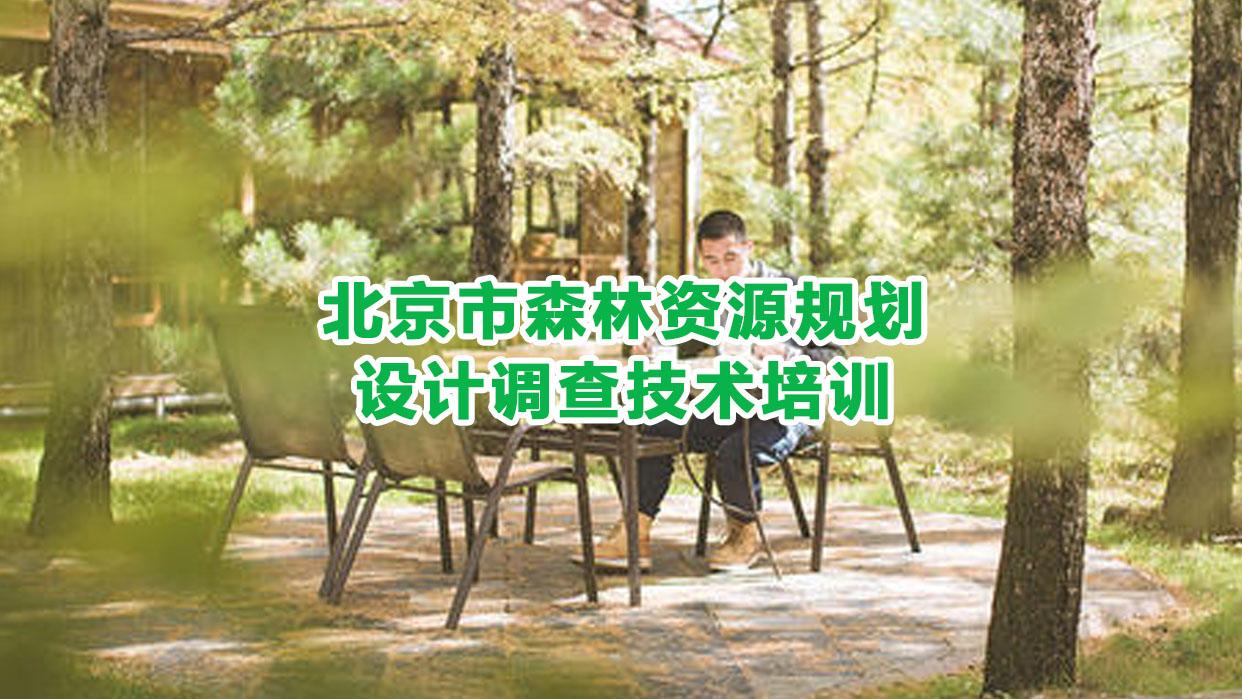 北京市森林资源规划设计调查技术培训